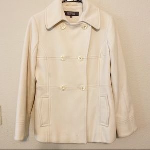 Kenneth Cole Reaction Bone Color Coat